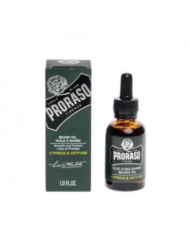 Proraso Cypress & Vetyver Beard Oil 30ml