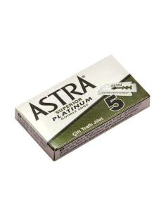 Astra Superior Platinum Double Edge Razor Blades 5 pcs