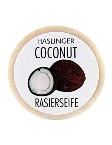 Haslinger Coconut Shaving Soap 60g