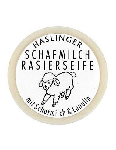 Haslinger Sheepmilk & Lanolin Shaving Soap 60g
