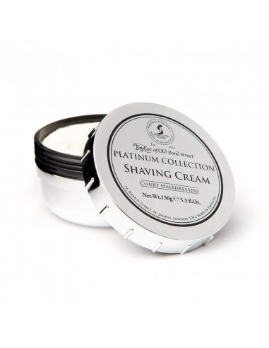 Taylor Of Old Bond Street Platinum Collection Shaving Cream 150g
