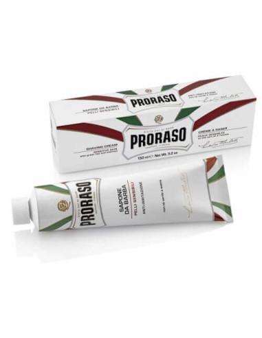 Proraso White Shaving Cream Tube with Green Tea 150ml