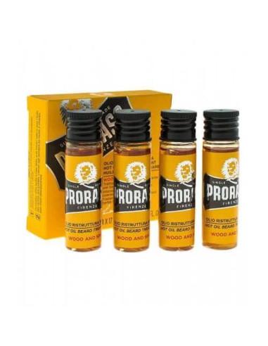 Proraso Beard Hot Oil 4 pcs x 17 ml