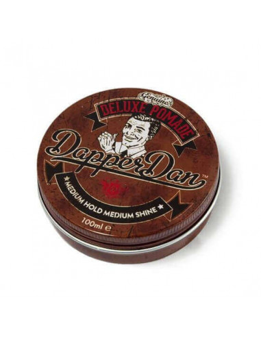 Dapper Dan Deluxe Medium Hold Pomade 100ml