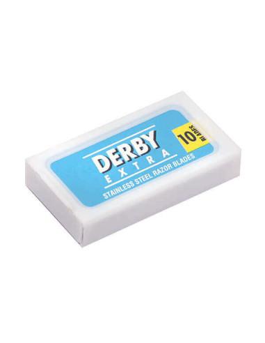 Derby Blue Extra Double Edge Razor Blades