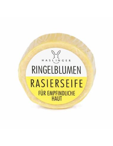 Haslinger Calendula Shaving Soap 60g