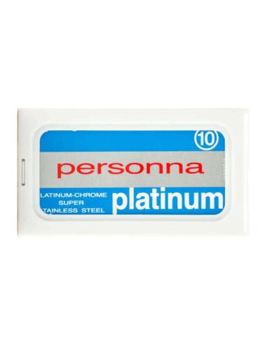 Personna Platinum Double Edge Razor Blades