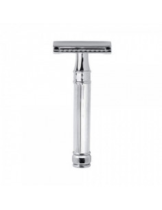 Edwin Jagger Double Edge Razor Chrome Lined DE89LBL