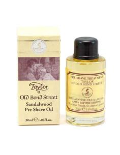 Taylor Of Old Bond Street Sandalwood Pre-Shave Oil 30ml