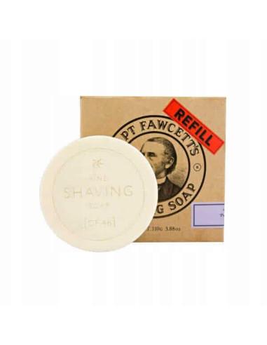 Captain Fawcett Luxury Shaving Soap Refill 110g