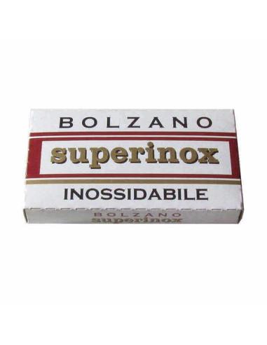 Bolzano Superinox Double Edge Razor Blades