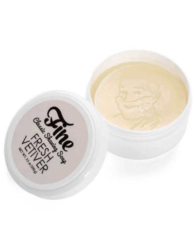 Fine Accoutrements Classic Shaving Soap Fresh Vetiver 100g