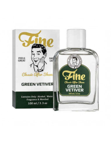 Fine Accoutrements Classic Aftershave Green Vetiver 100ml