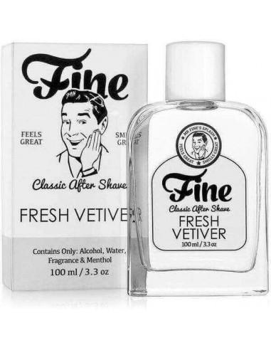 Fine Accoutrements Classic Aftershave Fresh Vetiver 100ml