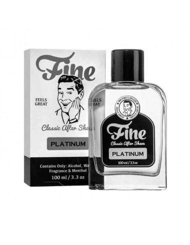 Fine Accoutrements Classic Aftershave Platinum 100ml