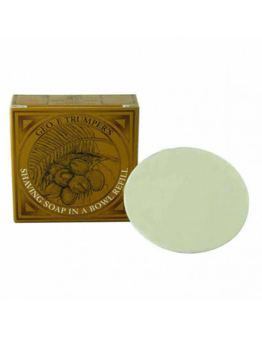 Geo F. Trumper Coconut Shaving Soap Refill 80g