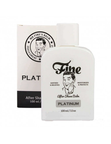 Fine Accoutrements Aftershave Balm Platinum 100ml