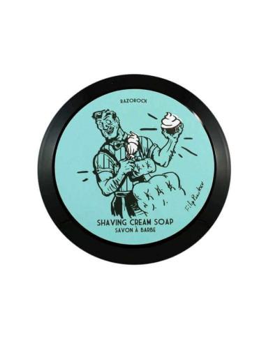 RazoRock Blue Barbershop Shaving Soap 150ml