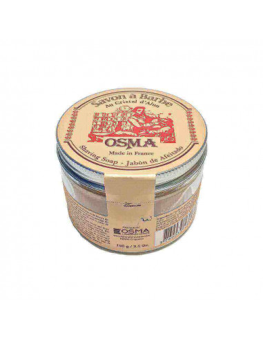 Osma Tradition Shaving Soap with Alum Crystals 100g