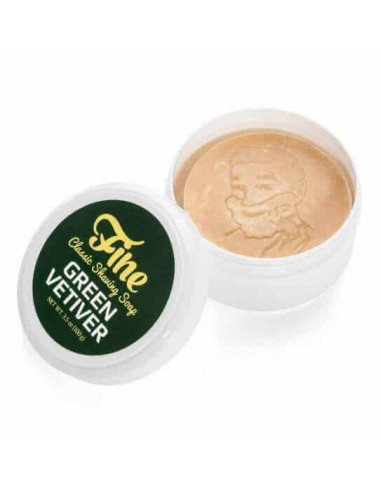 Fine Accoutrements Shaving Soap Green Vetiver 100g