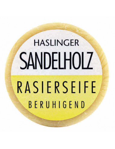 Haslinger Sandalwood Shaving Soap 60g