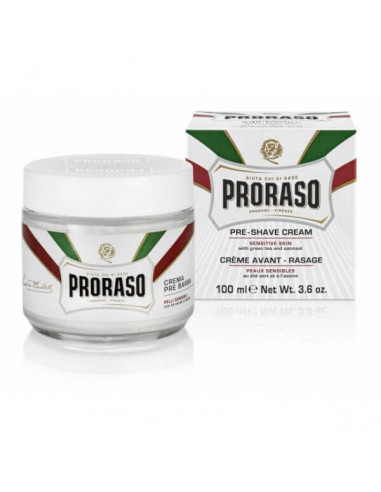 Proraso Pre-After Shave Green Tea & Oatmeal Cream 100ml