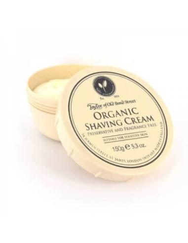 Taylor Of Old Bond Street Organic Shaving Cream 150g