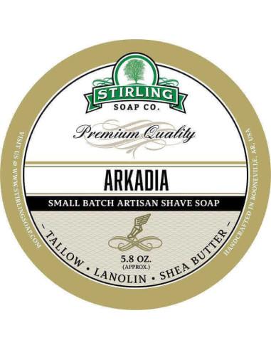 Stirling Soap Company Shave Soap Arkadia 170ml