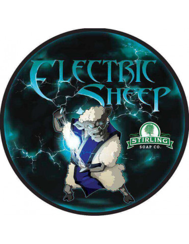 Stirling Soap Company Shave Soap Electric Sheep 170ml