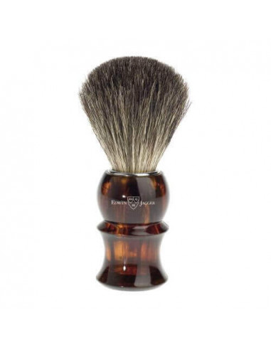 Edwin Jagger Shaving Brush Pure Badger Tortoiseshell