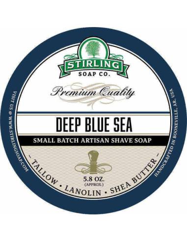 Stirling Soap Company Shave Soap Deep Blue Sea 170ml