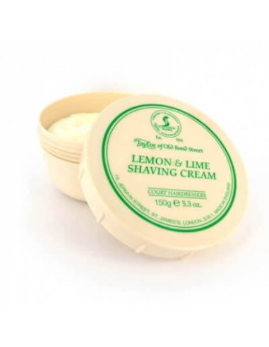 Taylor of Old Bond Street Lemon & Lime Shaving Cream Bowl 150g