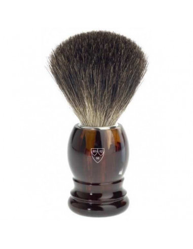 Edwin Jagger Shaving Brush Pure Badger Imitation Tortoiseshell