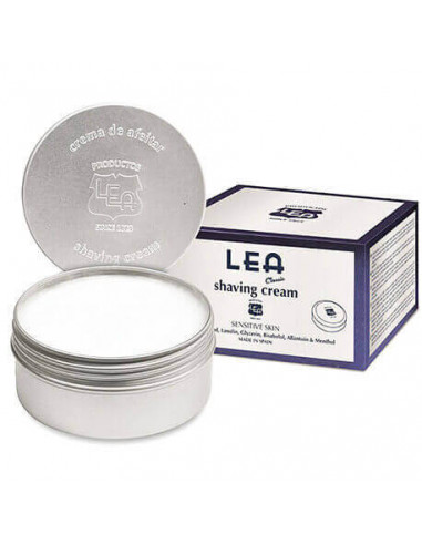 LEA Classic Shaving Cream in Aluminium Jar 150g