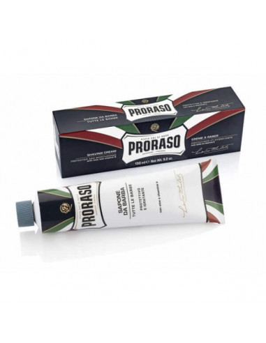 Proraso Shaving Cream  Aloe & Vitamin E Tube 150ml